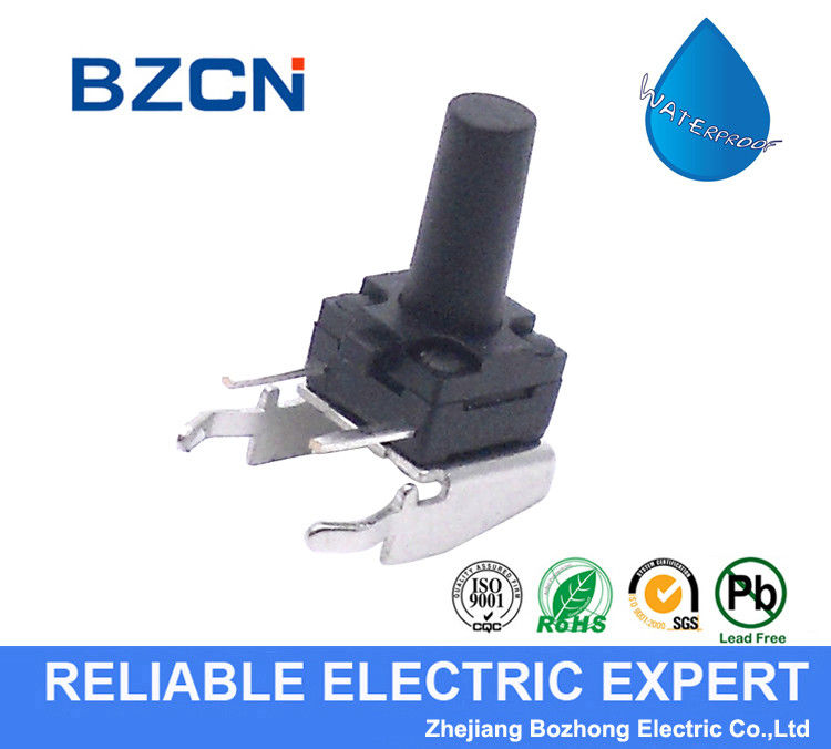 THT 2 Side Pin Tactile Push Button Switch Washable Through Hole Terminal